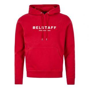 Belstaff Hoodie 71130543 J61N0133 50048 Red