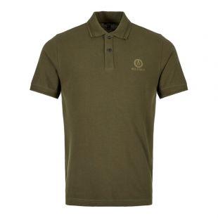 Belstaff Polo Shirt 71140259 J61N0054 20044 Dark Pine / Green