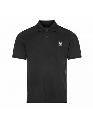 Belstaff Polo Shirt | Black 71140304 J61N0149 90000 | Aphrodite