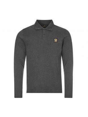 Long Sleeve Polo - Dark Charcoal