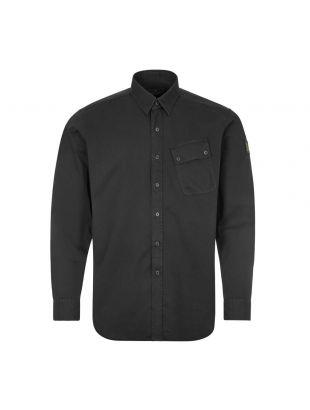 Belstaff Twill Shirt |71120237 C61A0420 90000 Black | Aphrodite