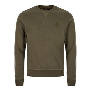 Belstaff Sweatshirt 71130524 J61N0133 20044 Dark Pine / Green