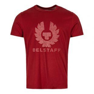 Belstaff T-Shirt 71140250 J61N0103 50050 Dark Red