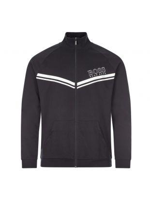 boss bodywear authentic track top 50436637 001 black