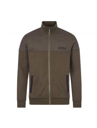boss bodywear track top 50443053 361 open green