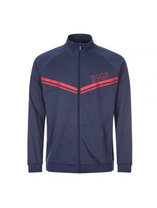 boss bodywear authentic track top 50436637 402 dark blue