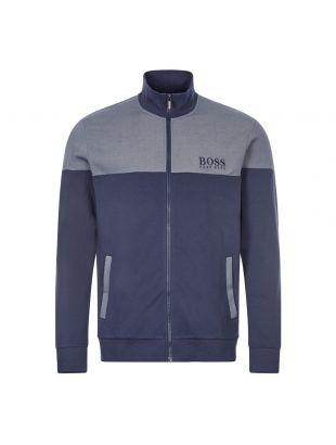boss bodywear track top 50443053 402 dark blue
