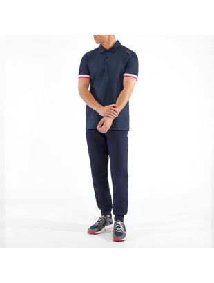 Athleisure Polo Shirt Paule 6 - Navy