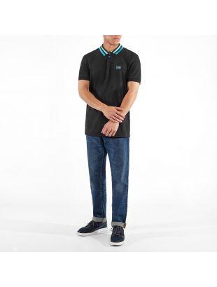 Athleisure Polo Shirt Paddy 1 - Black