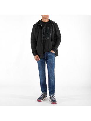 Athleisure T-Shirt City - Black