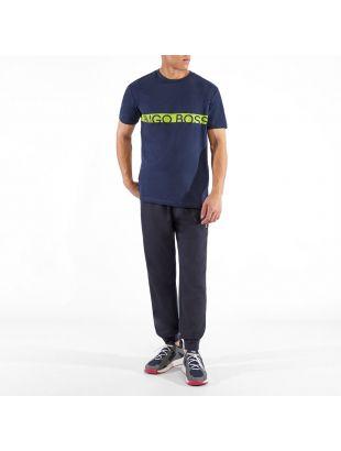 Bodywear T-Shirt RN - Navy / Green