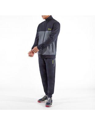 Bodywear Track Top - Navy