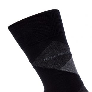Socks 2 Pack - Black / Grey