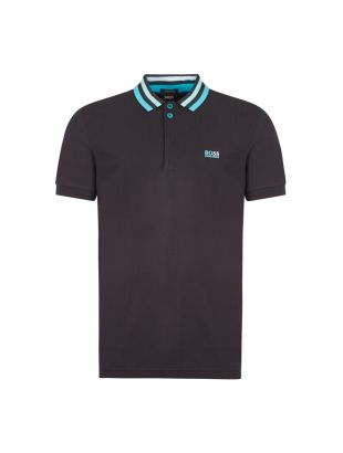 boss athleisure polo shirt paddy 1 50430630 001 black