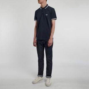Athleisure Paddy Polo - Navy