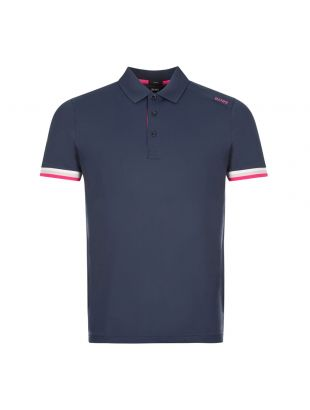 boss athleisure polo shirt paule 6 50431477 410 navy