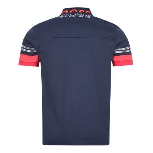 Athleisure Polo Shirt Paule 1 - Navy