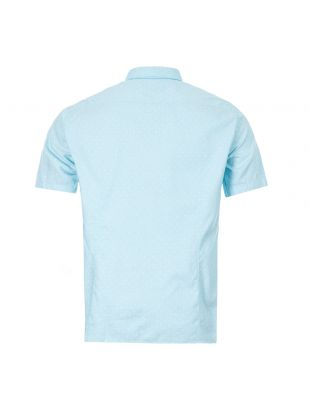 Athleisure Short Sleeve Shirt Brodi S - Open Blue