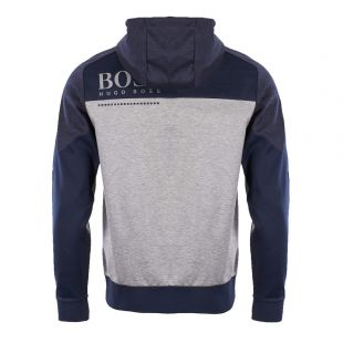 Athleisure Soultech Hoodie - Navy/Grey