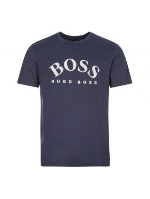 boss athleisure t-shirt 5 50432459 410 navy