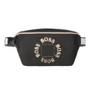 Boss Bodywear Pixel Bumbag 504286464|001 In Black At Aphrodite Clothing