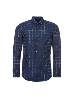 boss athleisure shirt bertillo s 50422604 480 open blue