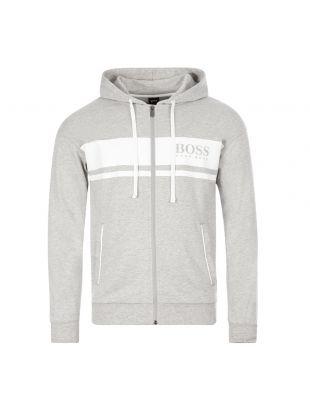 BOSS Bodywear Hoodie | 50431084 054 Grey