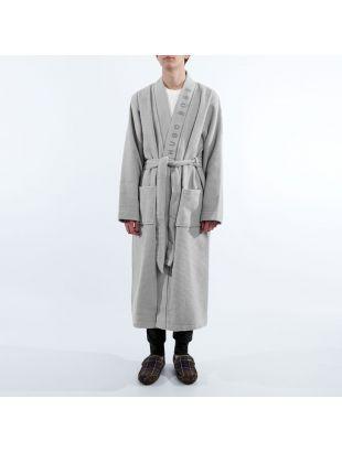 Bodywear Dressing Gown – Grey Waffle