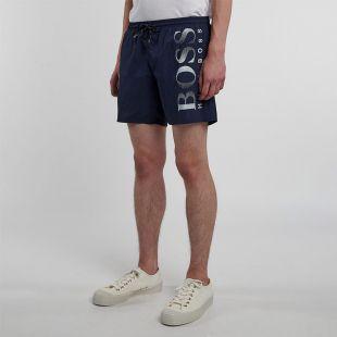 Bodywear Octopus Swim Shorts - Navy