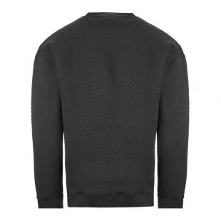 Bodywear Sweatshirt – Black Quilted