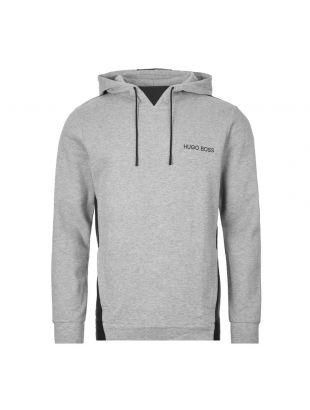 boss bodywear hoodie contemp | 50424798 033 grey black
