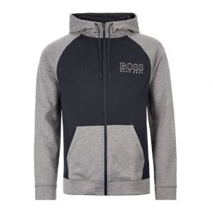 Boss Contempt Hoodie |50420295|403 Dark Blue / Grey | Aphrodite Clothing
