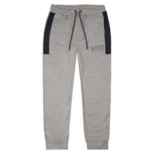 BOSS Joggers Contemp 50420298 403 Grey / Dark Blue