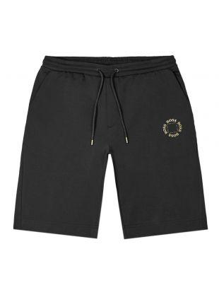 boss athleisure shorts halboa 50423612 012 charcoal