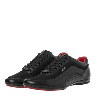 HB Racing Trainers - Black