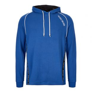 boss bodywear hoodie 50414690 465 blue