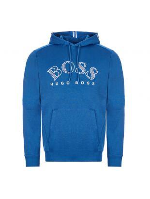 boss athleisure hoodie soody 50421597 434 blue