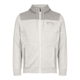 BOSS Athleisure Hoodie Saggy 50410288 057 Grey