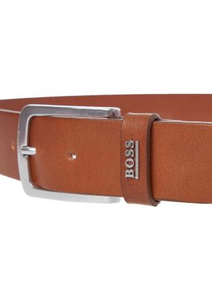 Belt Jor Logo - Medium Brown