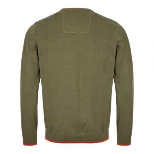 Athleisure Knitted Sweatshirt - Green