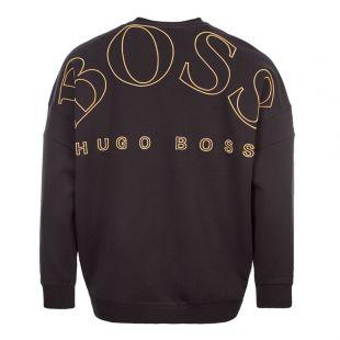 Athleisure Sweatshirt – Black / Gold