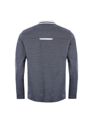 Athleisure Long Sleeve Polo Shirt Plisy 2 - Navy