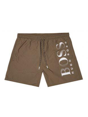 BOSS Bodywear Swim Shorts Octopus | 50371268 204 Dark Brown