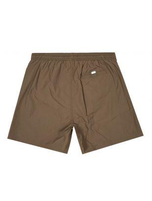 Bodywear Swim Shorts Octopus - Dark Brown