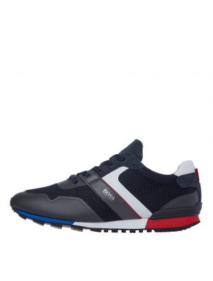 Parkour Runn Trainers - Navy