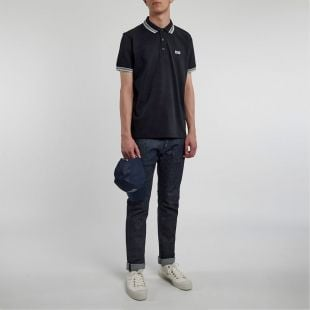 Athleisure Paddy Polo - Black