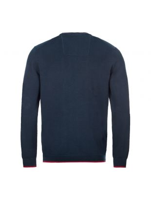 Athleisure Jumper Rimex - Navy / Red