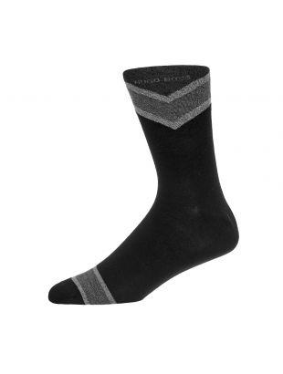 2 Pack Socks Rschevron - Black