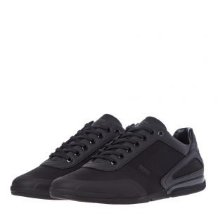 Athleisure Saturn Lowp Trainers - Black