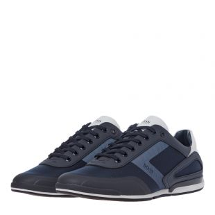 Saturn Lowp Act4 Trainers - Dark Blue